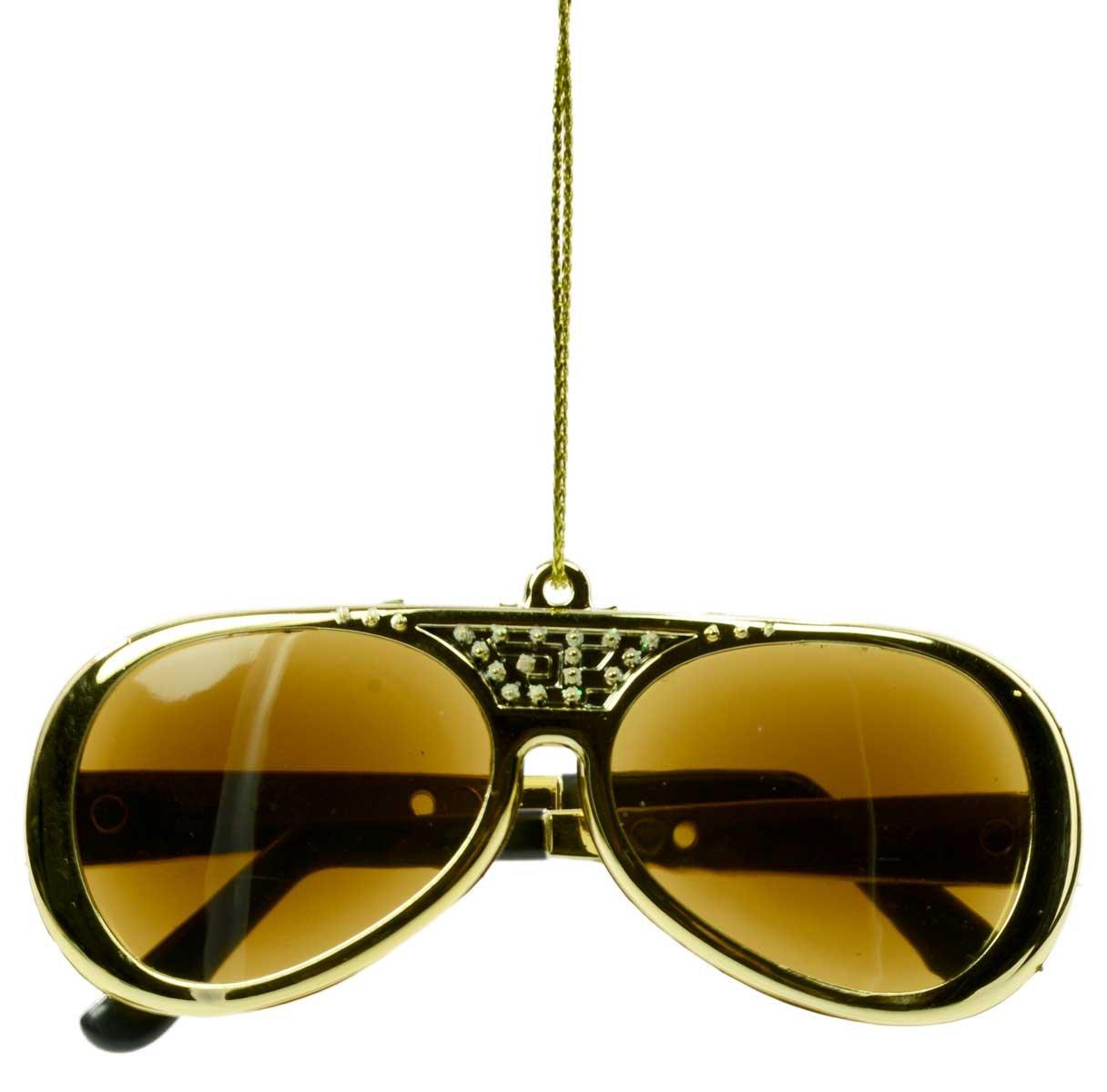 Elvis TCB Sunglasses Ornament