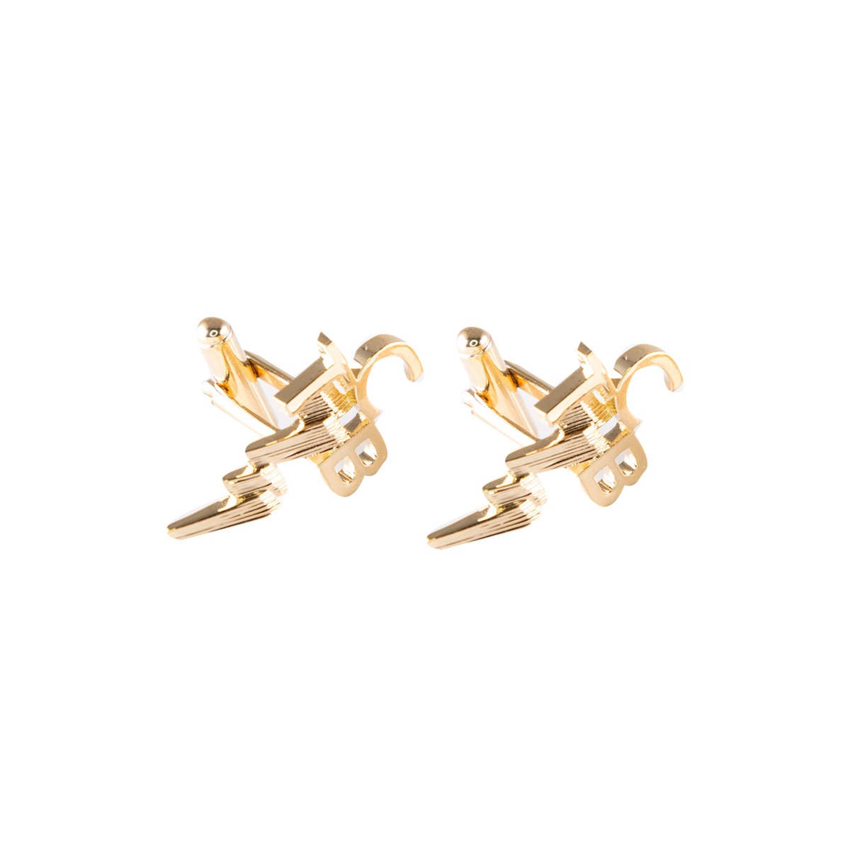 Lowell Hays 18K Gold TCB Cuff Links