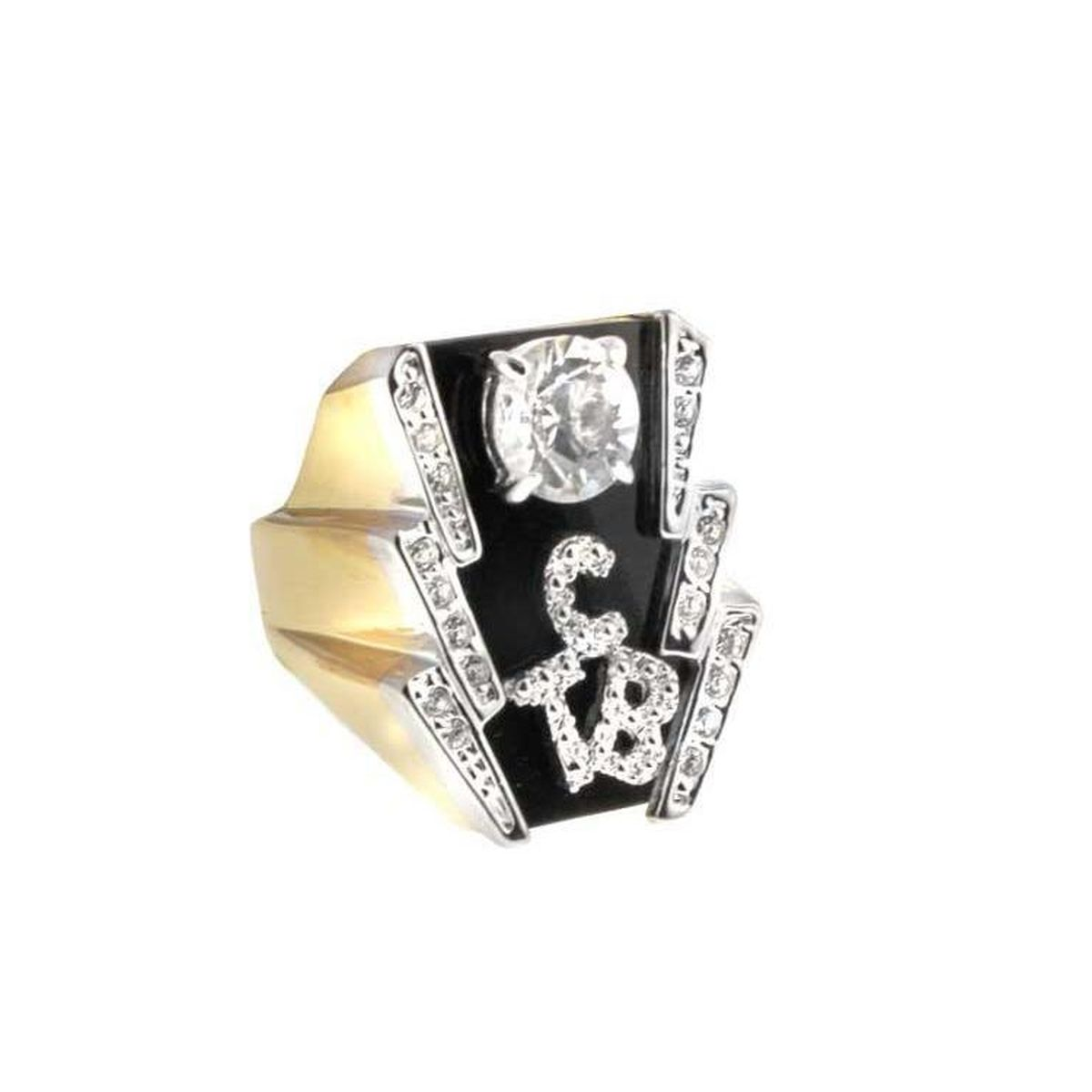 Lowell Hays 18K Gold Plated TCB Ring – Small Ladies Size