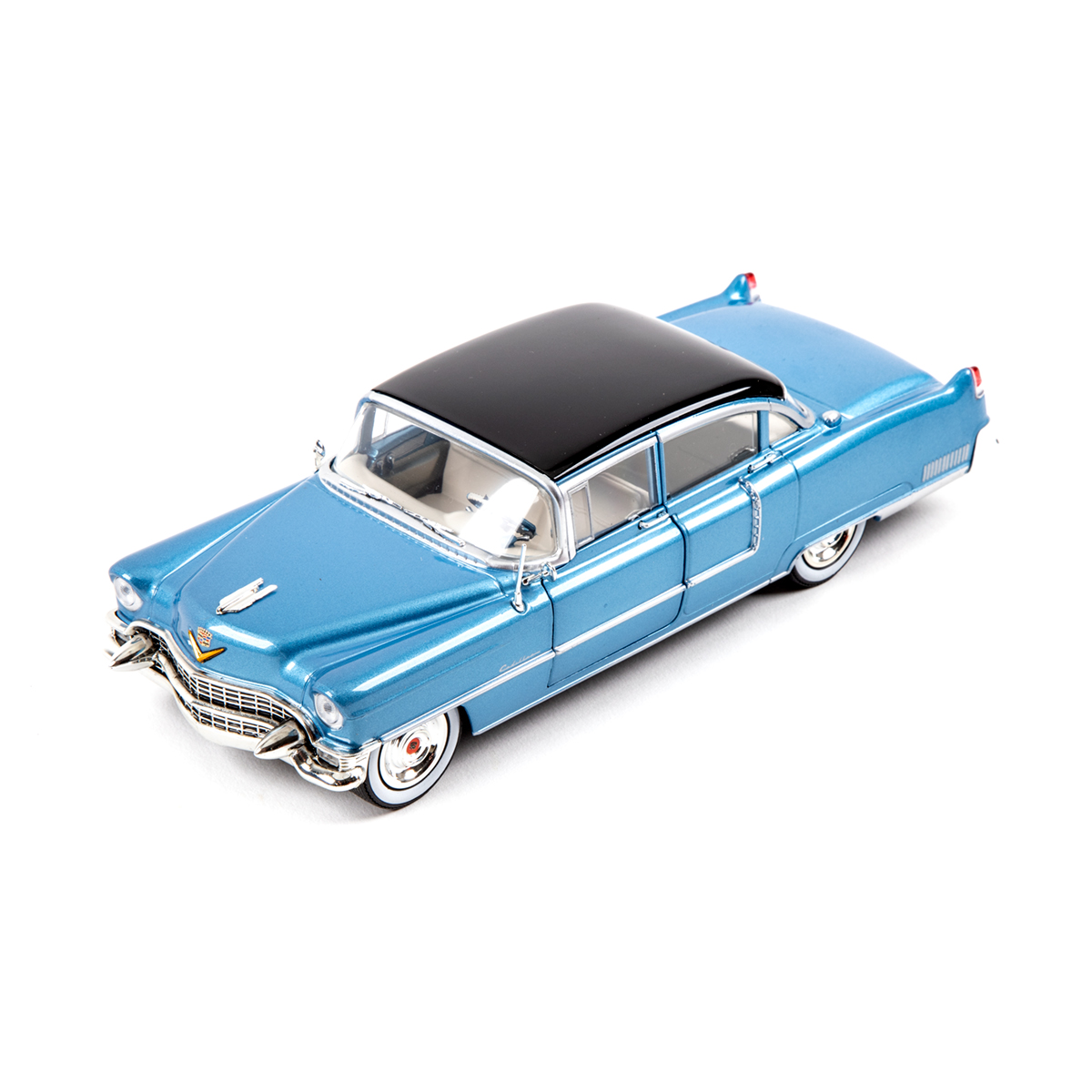 "Elvis Presley  - 1955 Cadillac Fleetwood Series 60 ""Blue Cadillac"" 1:24"