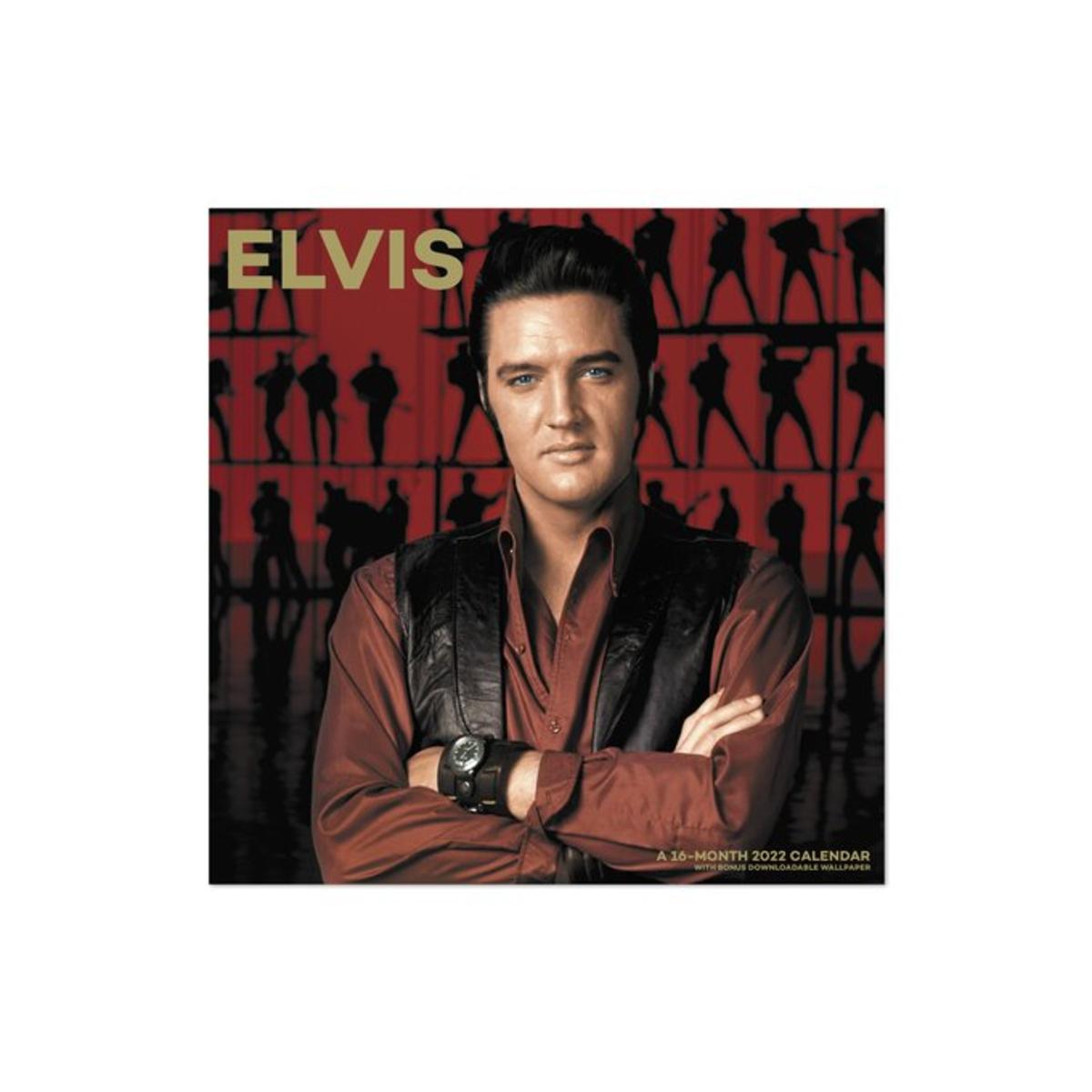 Elvis Presley 2022 Monthly Wall Calendar