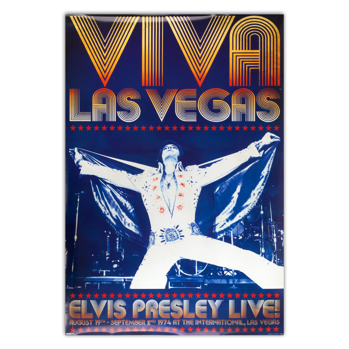 Elvis Presley - Viva Las Vegas Poster