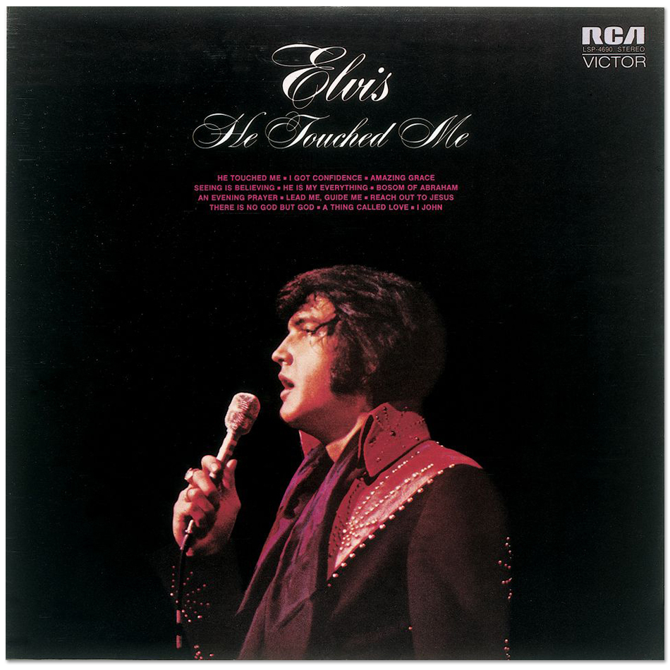 Elvis He Touched Me FTD 2 CD Set