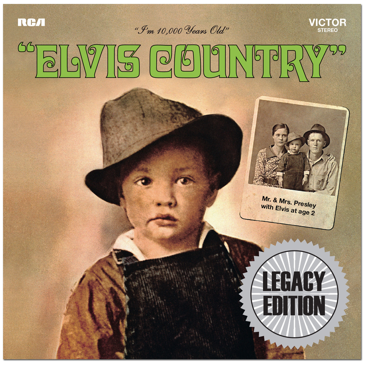 Elvis Country Legacy Edition 2-CD Set