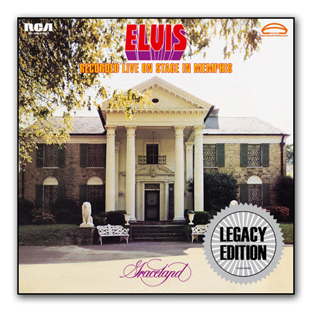 Elvis Recorded Live On Stage In Memphis Legacy Edition 2-CD Set