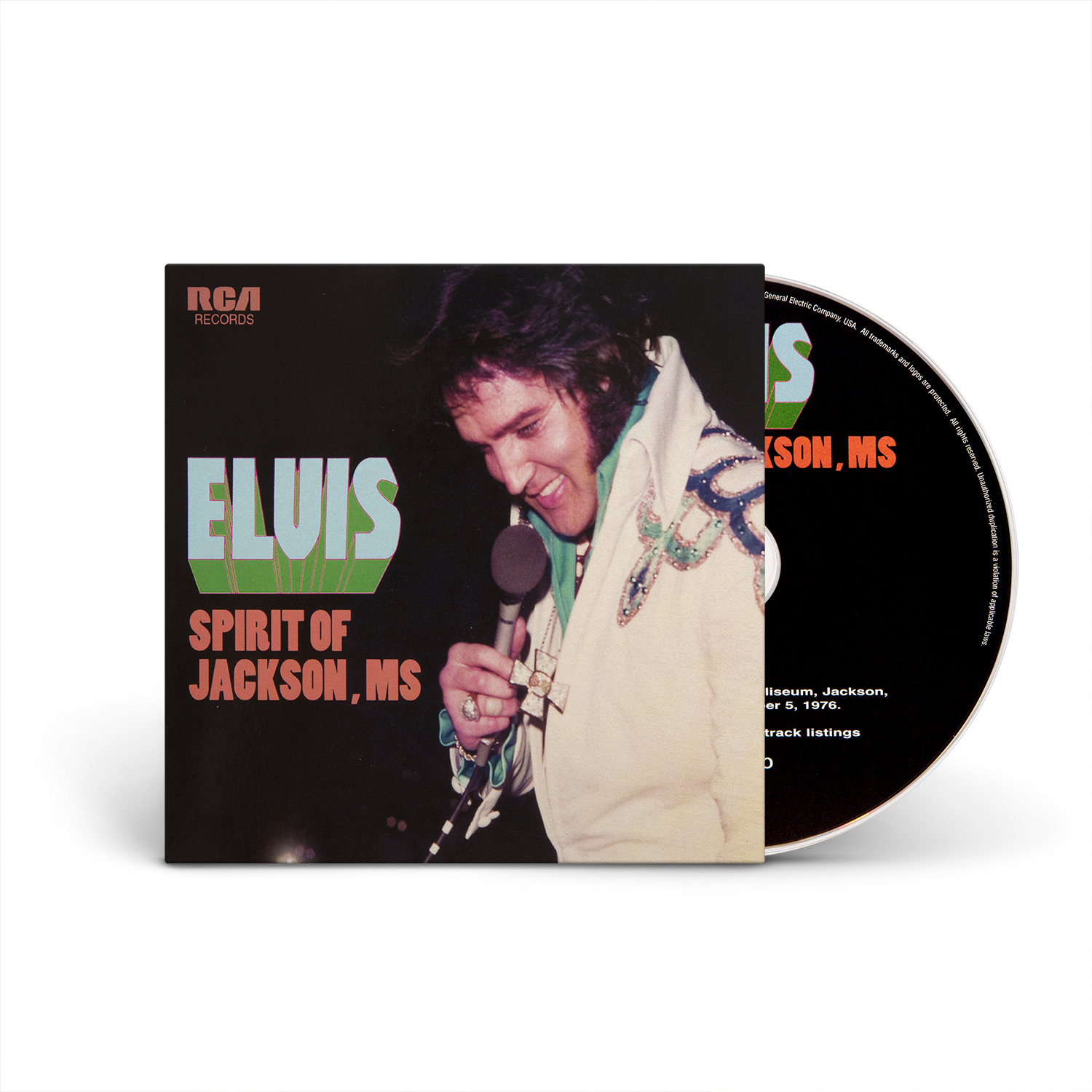 Elvis Spirit of Jackson, MS FTD 2-Disc CD