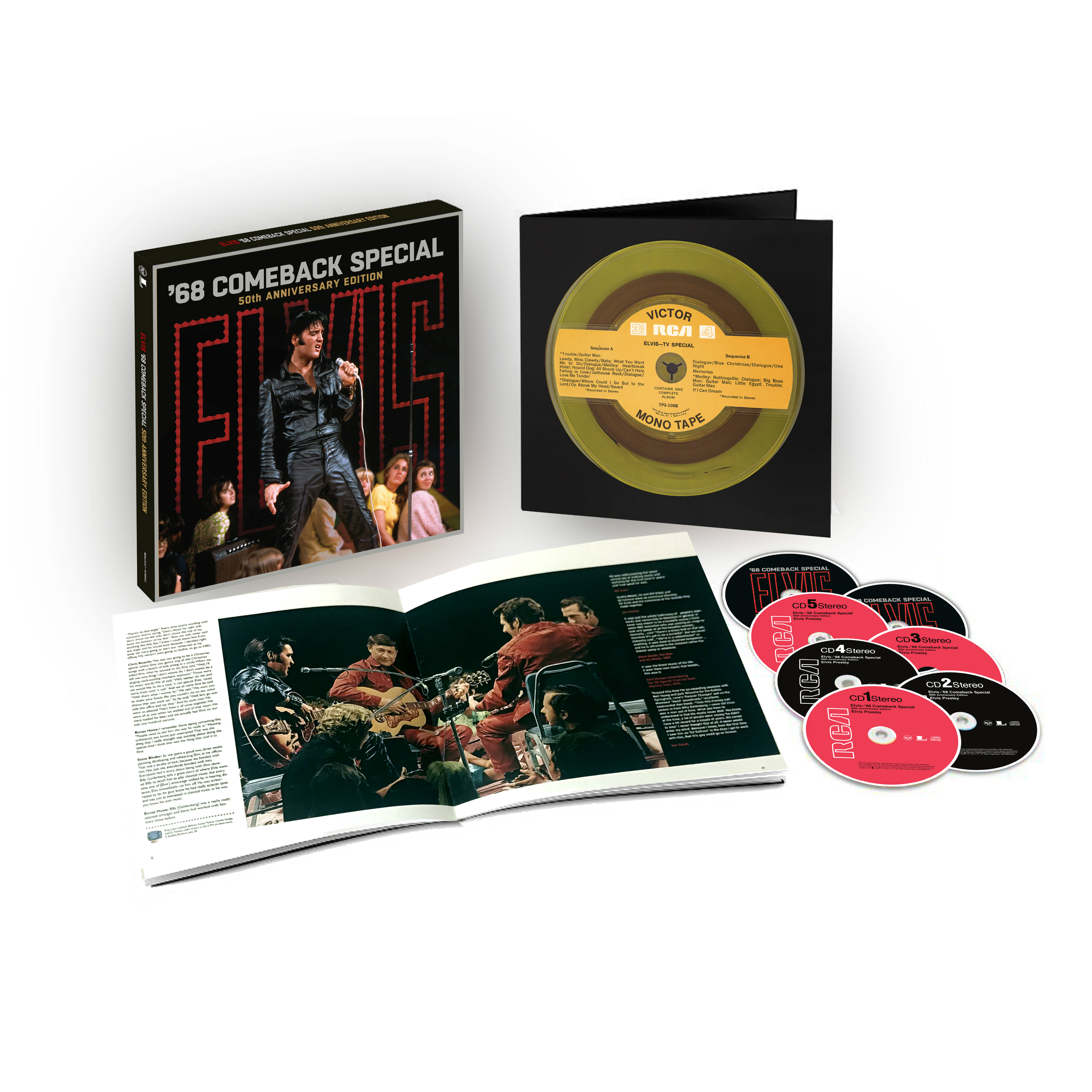 '68 Comeback Special - 50th Anniversary Edition CD Box Set