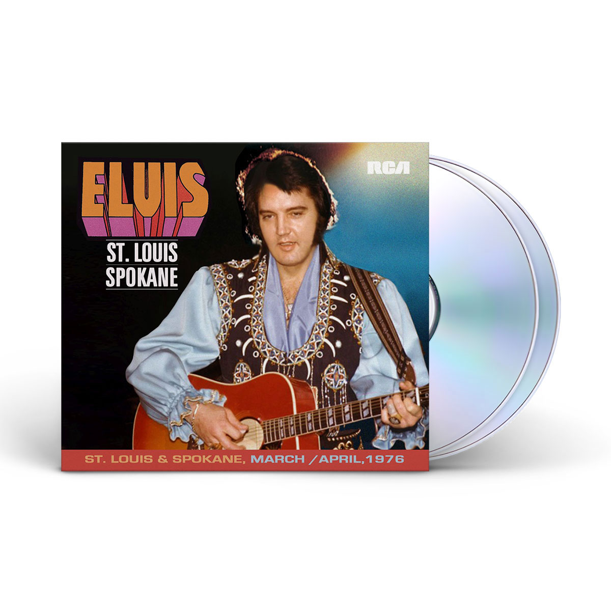 Elvis: St. Louis & Spokane FTD (2-disc) CD