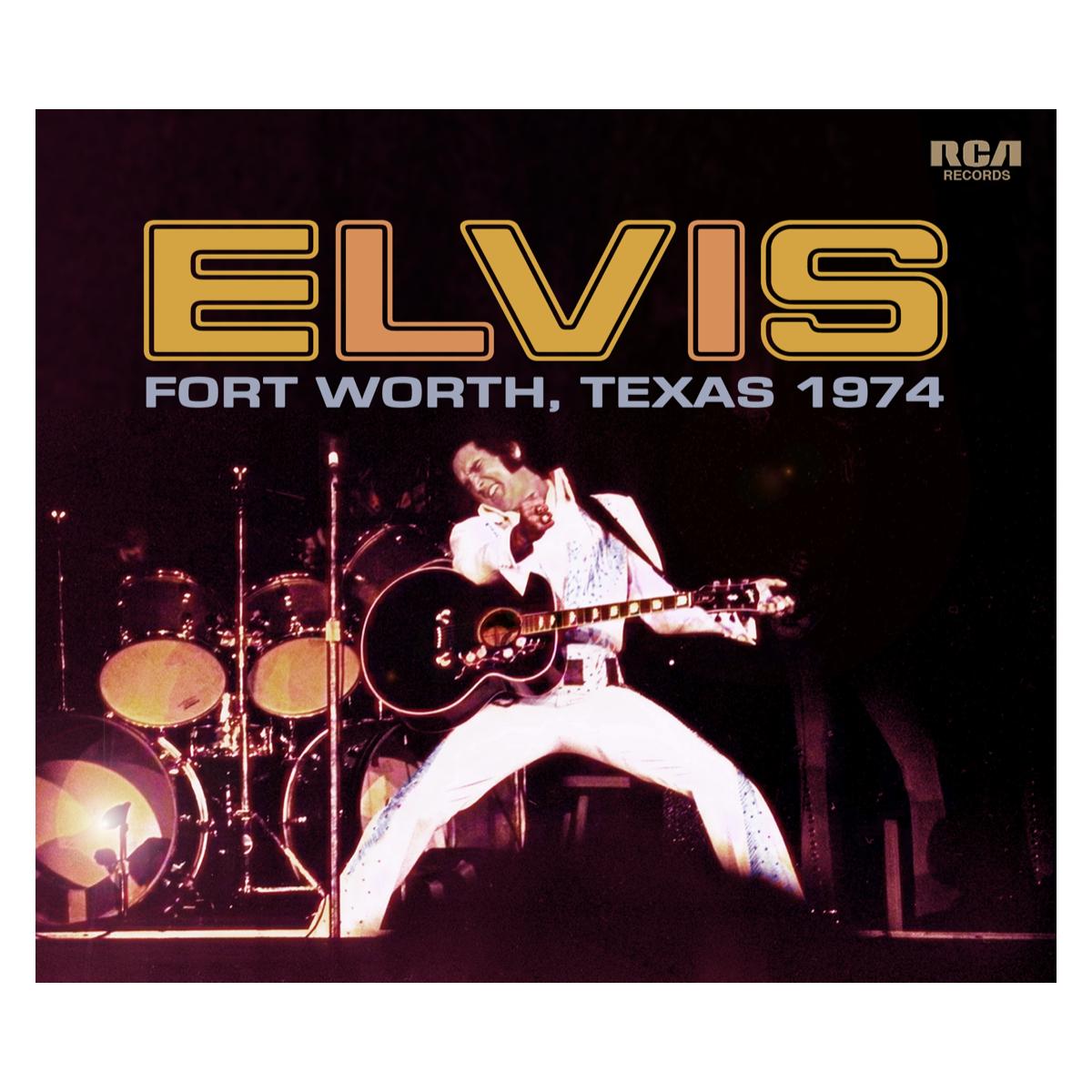 """ELVIS: FORT WORTH '74"" (2-CD) FTD"