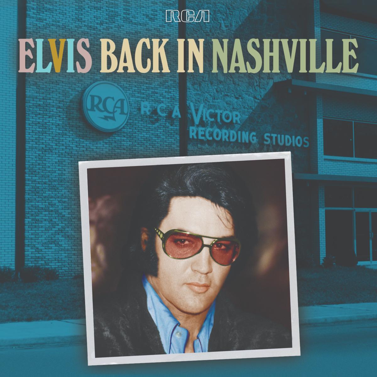 "Elvis Presley ""Back In Nashville"" 4-CD Box Set"