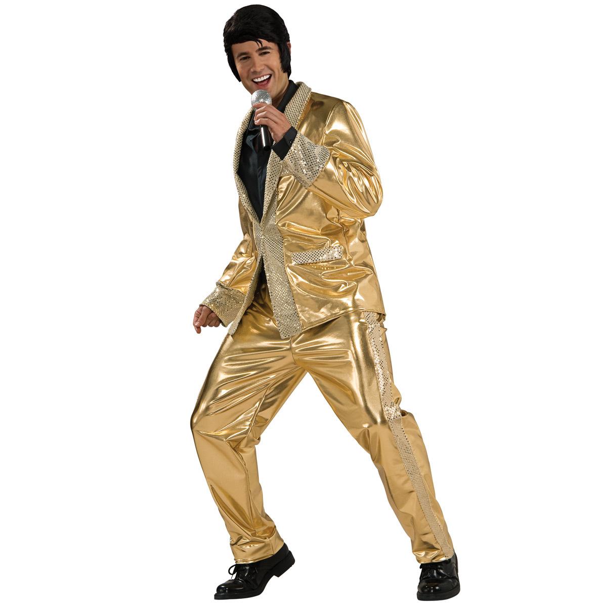 Elvis Grand Heritage Gold Lamé Suit
