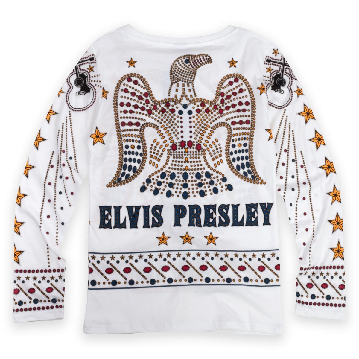Elvis Presley American Eagle Jumpsuit Pajamas
