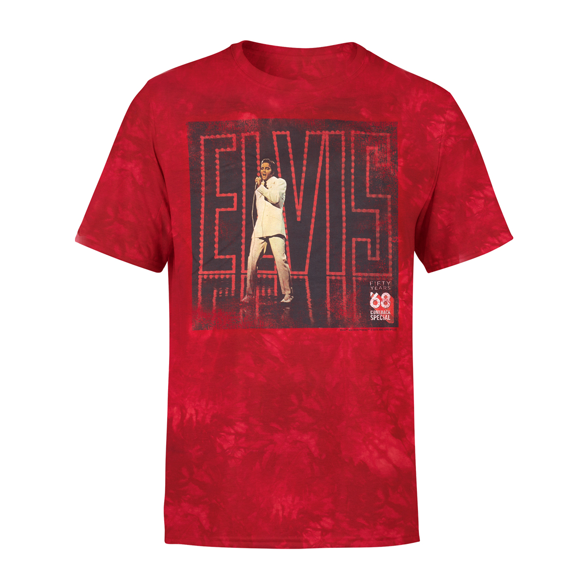 Elvis - '68 Comeback Special 50th Anniversary Album Cover T-shirt