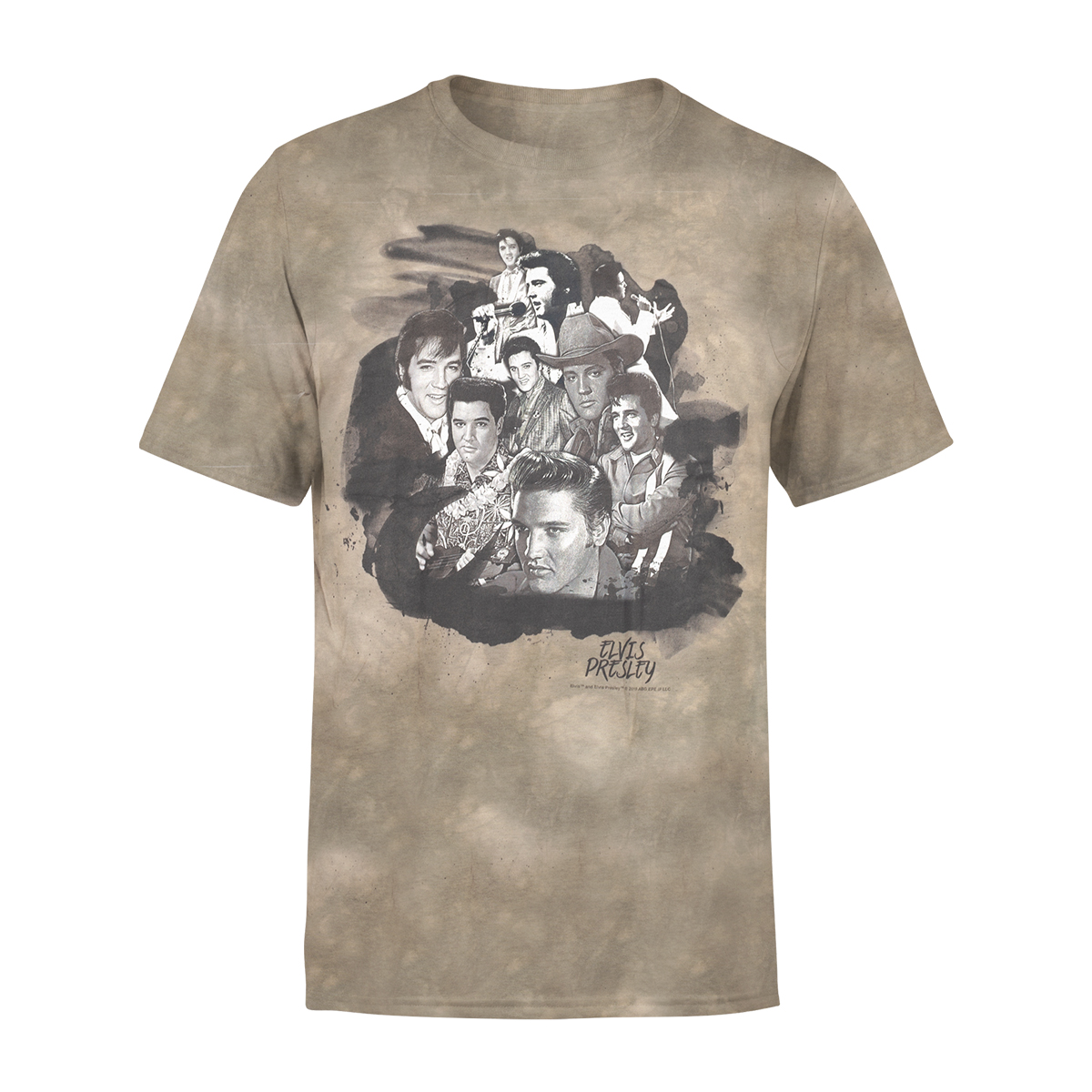 The Faces Of Elvis T-shirt