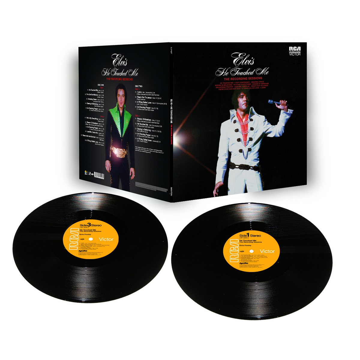He Touched Me FTD 2-Disc Vinyl Set