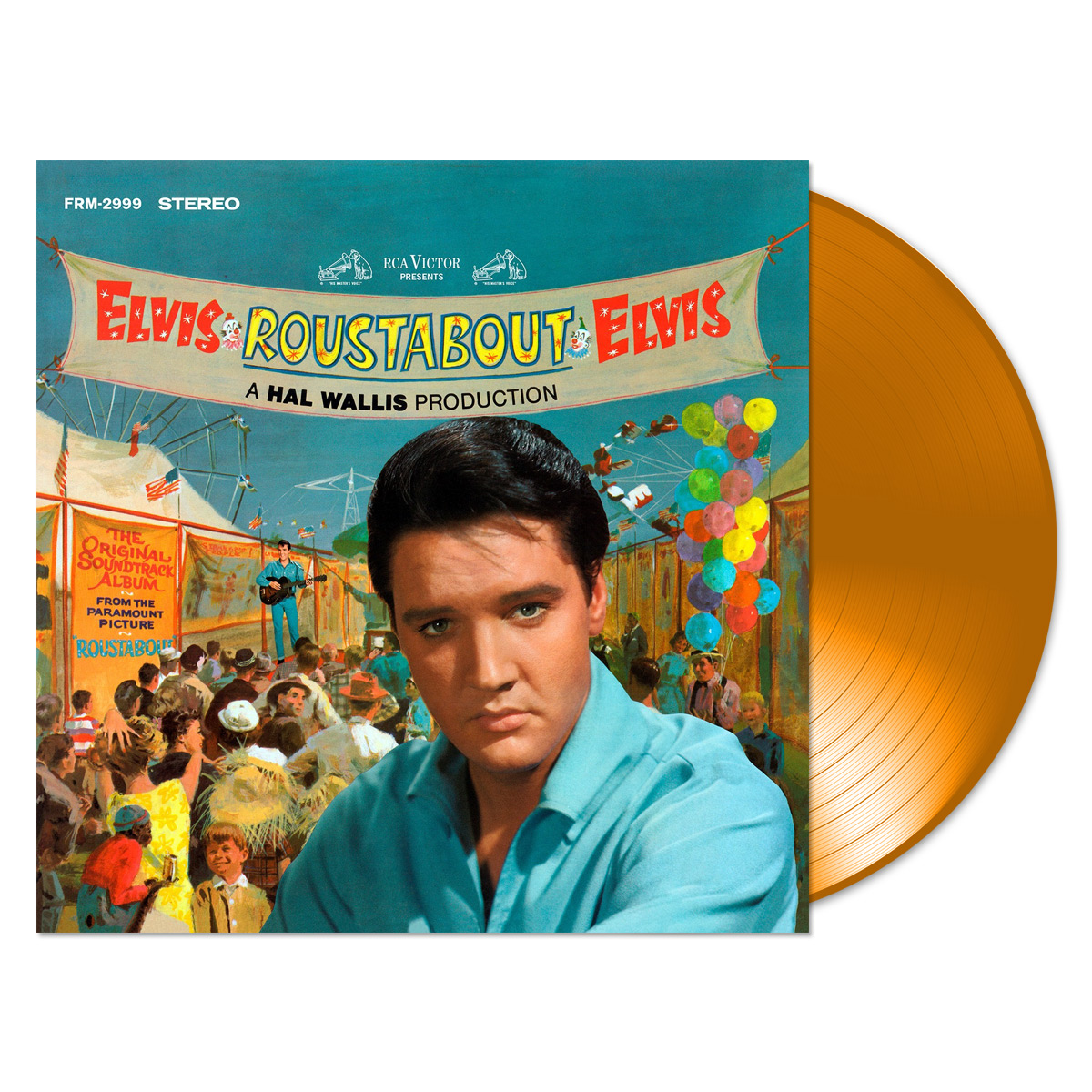 Special Anniversary Edition Roustabout 180 Gram Audiophile Translucent Orange Vinyl