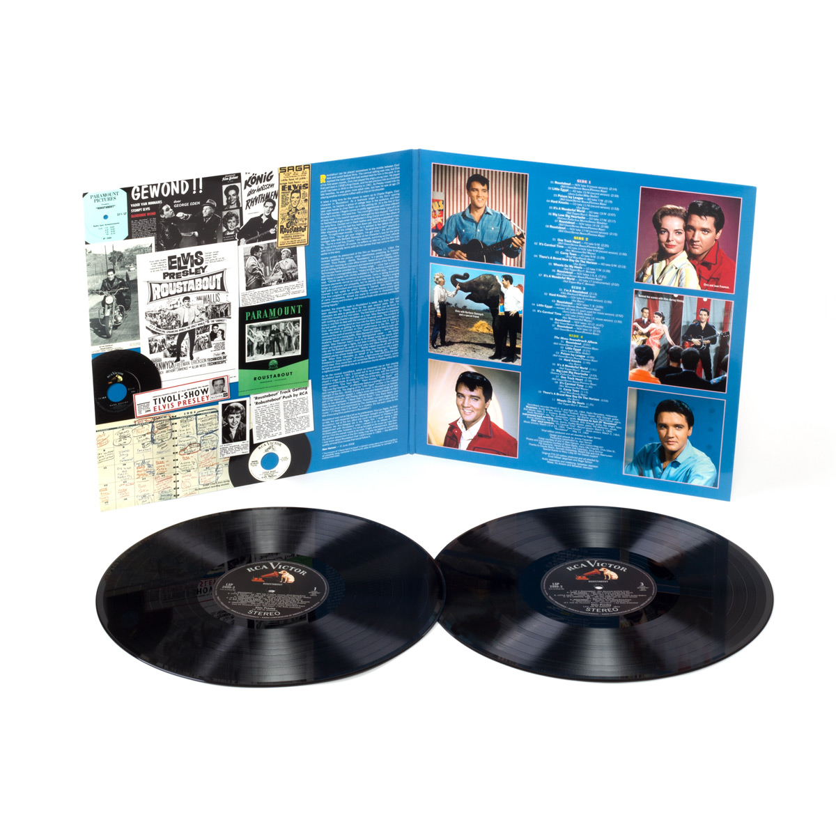 Limited Edition Roustabout 2-Disc FTD LP