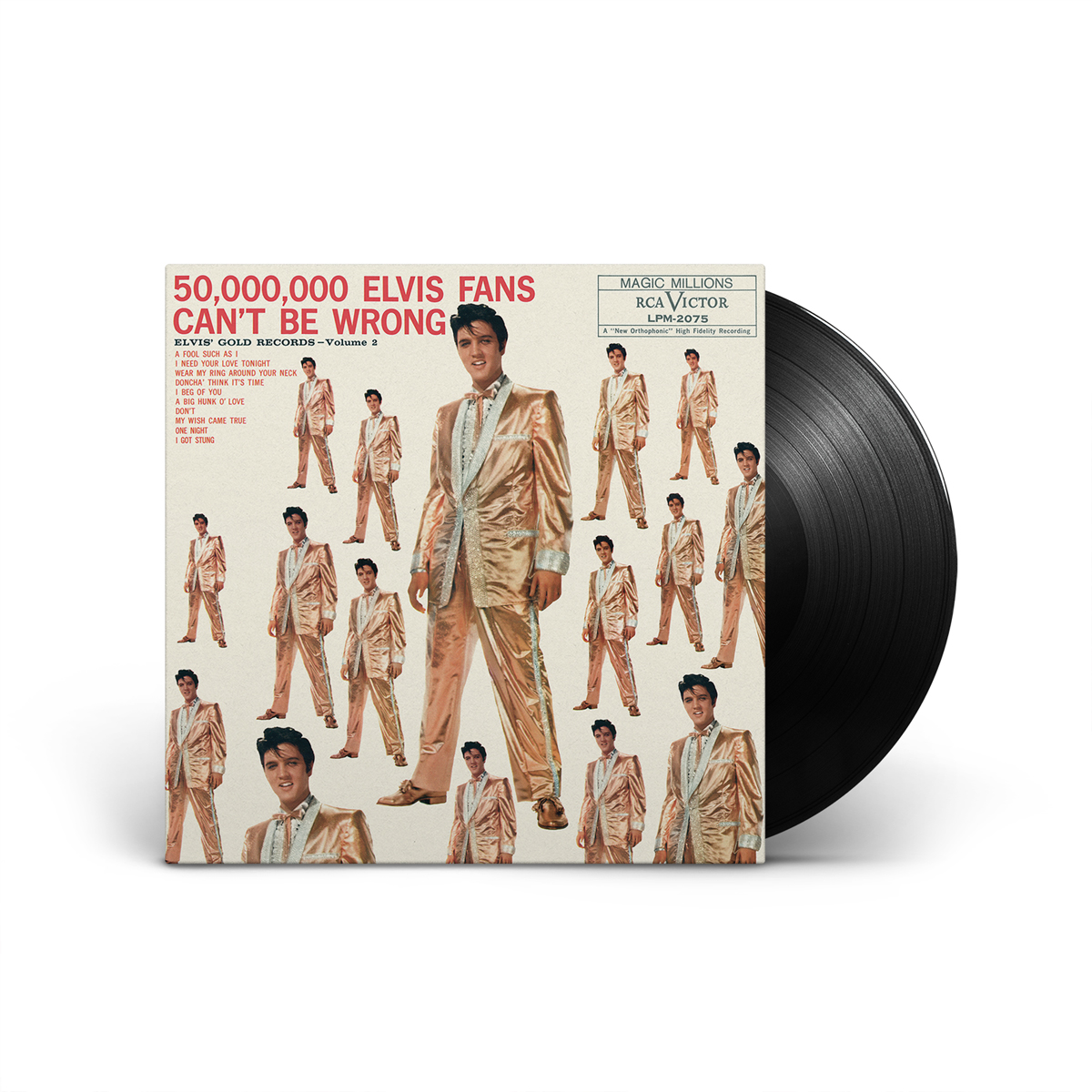50,000,000 ELVIS FANS CAN'T BE WRONG: ELVIS' GOLD RECORDS, VOLUME 2