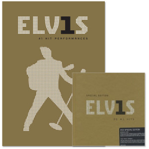 30 #1 Elvis Hits CD/DVD Combo