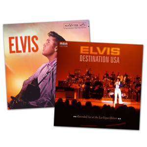 Elvis Destination USA and ELVIS FTD CD Bundle