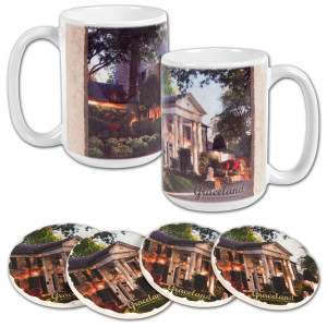 Elvis Graceland Mug & Tile Set