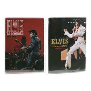 Elvis Special Edition DVD Bundle