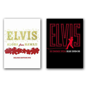 Elvis Deluxe Edition DVD Bundle