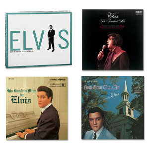 Elvis Gospel CD Bundle