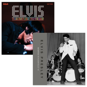 Elvis - The Return to Vegas FTD CD and Memphis To Nashville '61 FTD Book/CD Bundle