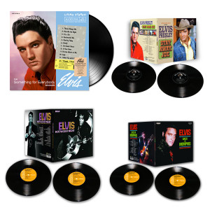 Elvis 2014 Bundle of 4 FTD LP Releases