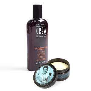American Crew King Fiber + Daily Shampoo Bundle