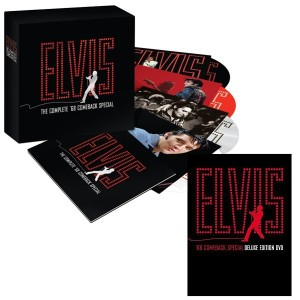 '68 Comeback Special 40th Anniversary CD Set and Deluxe Edition DVD Combo