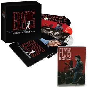 '68 Comeback Special 40th Anniversary CD Set and DVD Combo