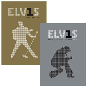 Elvis #1 Hit Performances & More Vols. 1 and 2 DVD Combo