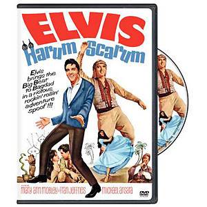 ELVIS Harum Scarum DVD