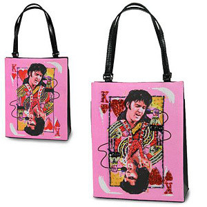 ELVIS King of Hearts Bag