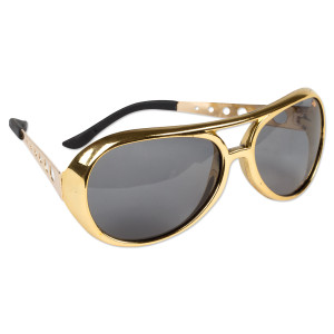 Elvis 1970s Gold Sunglasses