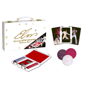 Elvis Viva Las Vegas Poker Set