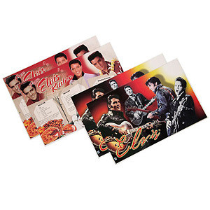 Elvis 68 Collage Set of 4 Placemats