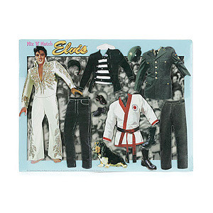 Elvis Interactive Dress-Up Magnet Set # 1