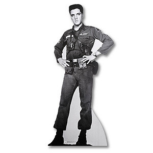 Lifesize Elvis G.I. Blues