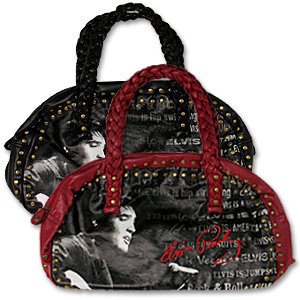 Elvis Braided Handle Hand Bag