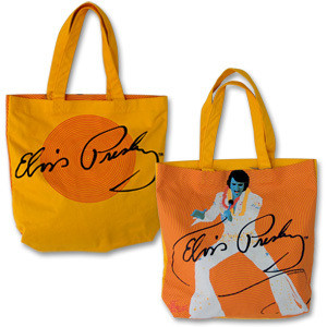 Elvis Yellow Tote