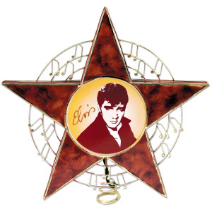 Elvis Star Tree Topper