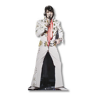 Lifesize Talking Elvis - 70's In Concert