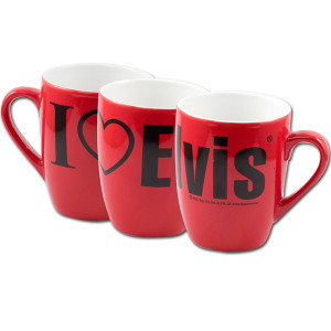 I Love Elvis Mug