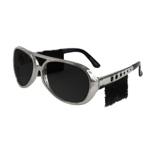 Elvis 1970s Sunglasses with Sideburns