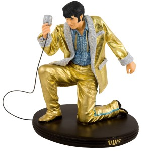 Elvis in Gold Figurine