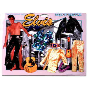 Elvis Interactive Dress-Up Magnet Set # 2