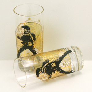 Gates of Graceland Highball Glasses